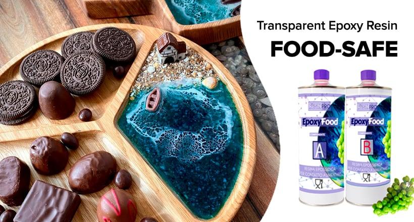 FOOD-SAFE transparent epoxy resin